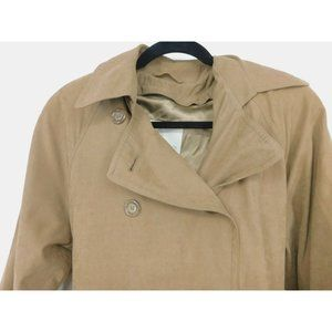 London Fog Womens Double Breasted Trench Coat